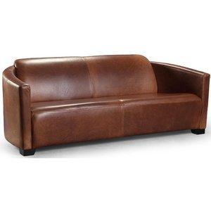 Corniche Vintage 3-sits lädersoffa -Skinnsoffor - Soffor