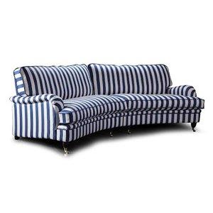 Howard Luxor XXL svängd 5-sits soffa 300 cm - Valfri färg! -Howardsoffor - Soffor