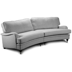 Howard Luxor svängd 4-sits soffa 240cm - Valfri färg -Howardsoffor - Soffor