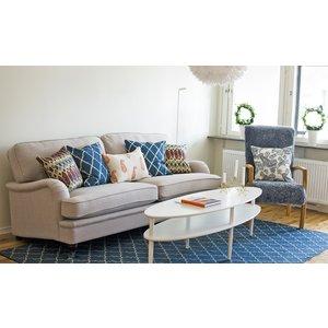 Howard Southampton 3-sits soffa - Ljus beige -Howardsoffor - Soffor