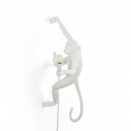Monkey Lamp Hängande Höger Vit - SELETTI - bild
