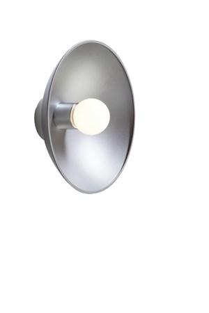 Turn Vägglampa Grå - Herstal - bild