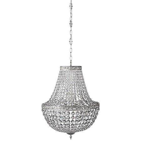 Divine Kristallkrona Grå/Silver Ø55cm - Lene Bjerre - bild