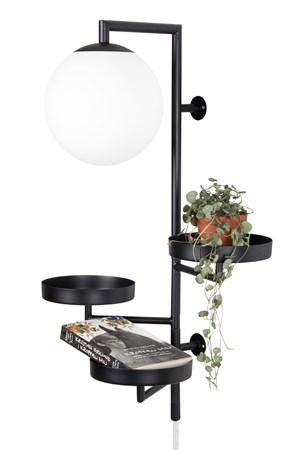 Astoria Vägglampa Vit - Globen Lighting - bild