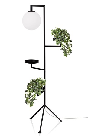 Astoria Golvlampa Svart - Globen Lighting - bild