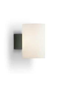 Evoke Vägg antracit/Vit Glas E14 - Herstal - bild