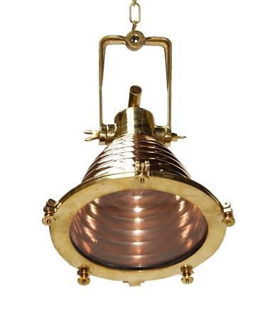 Algiers copper cargo Taklampa - Mullan Lighting - bild