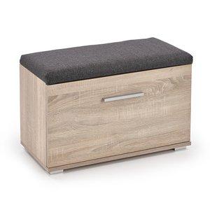 Abdel skoskåp med sits - Sonoma ek -Skoskåp - Hallmöbler