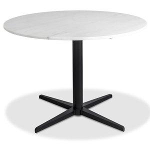 Accent matbord runt - Vit marmor -Matbord - Bord