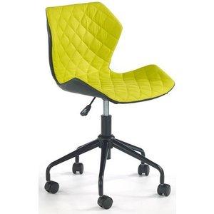 Albana skrivbordsstol - Svart/grön -Kontorsstolar - Stolar