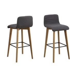 Albuquerque barstol - Mörkgrå -Barstolar - Stolar