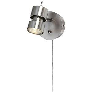 Aluminati vägglampa - Borstad krom -Vägglampor - Lampor