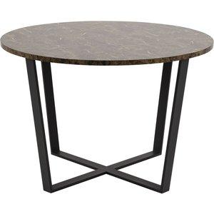 ArtDeco matbord 90 cm Mässing Skånska Möbelhuset Möbeljakt