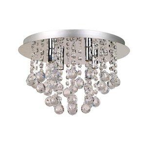 Aries Taklampa 4 - Krom/Kristall -Taklampor - Lampor