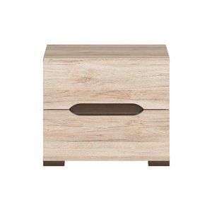 Brynolf sängbord - Ek -Sängbord - Sovrumsmöbler
