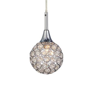 Cora Fönsterlampa - Krom/Kristall -Fönsterlampor - Lampor