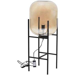 Elements golvlampa - Svart/klarglas -Golvlampor - Lampor