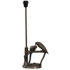 Fåglar lampfot H56 cm - Matt antik mässing -Bordslampor - Lampor