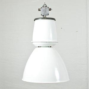 Industri taklampa vintage - Vit -Taklampor - Lampor