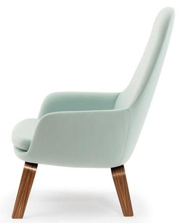 Era Lounge Chair High Valnöt - Normann Copenhagen - bild