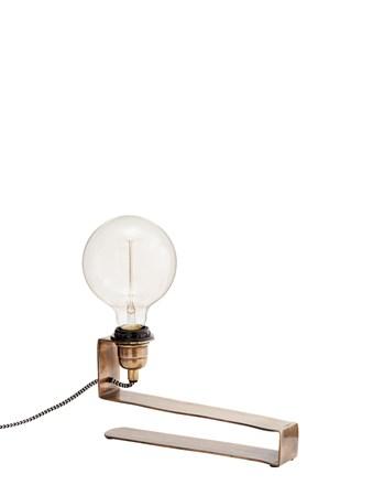 Bordslampa 27x5x14cm Mässing - Madam Stoltz - bild