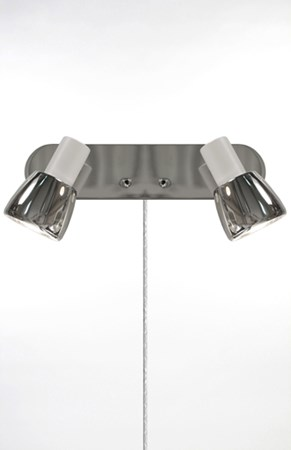 Vägglampa Hugo 2 Vit - Globen Lighting - bild