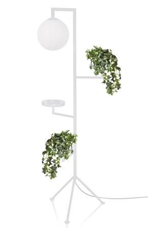 Astoria Golvlampa Vit - Globen Lighting - bild