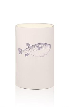 Bordslampa Blowfish Blå - Globen Lighting - bild