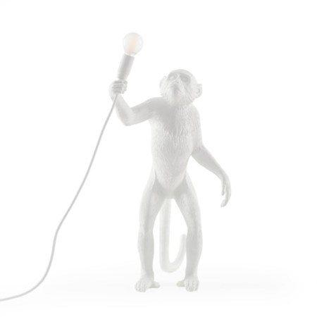 Monkey Lamp Ståendes Vit - SELETTI - bild