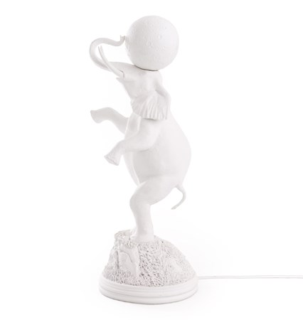 Elephant Lamp Vit - SELETTI - bild