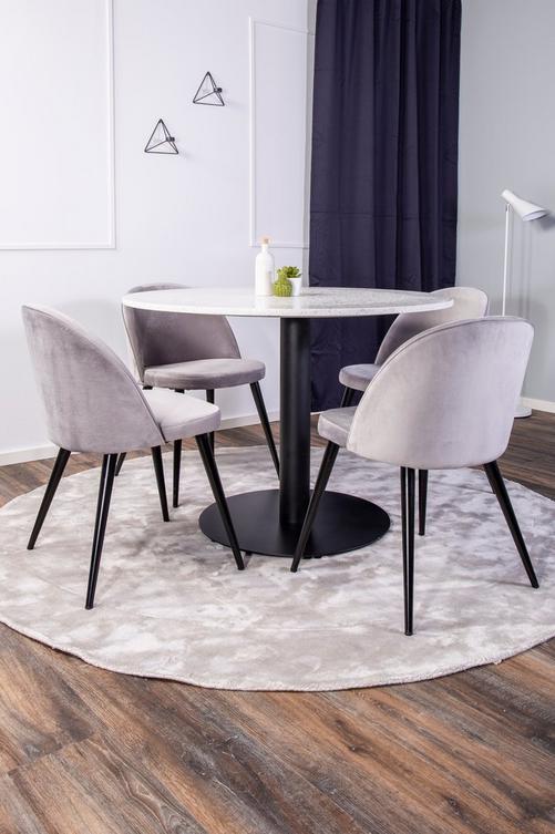 Bild på Matgrupp Ruben och 4 st Valleta stolar - NORDFORM