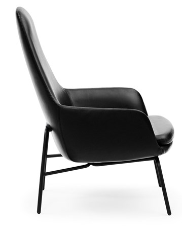Era Lounge Chair High Stål - Normann Copenhagen - bild