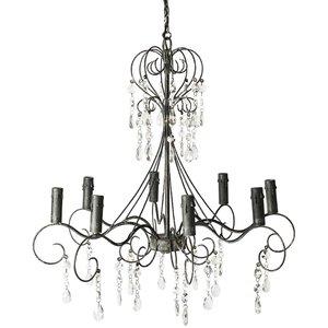BOURDEAUX Kristallkrona DCS010430 - Glas / Metall -Taklampor - Lampor