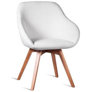 Cleon karmstol - Valfri färg på klädsel och ben -Karmstolar - Stolar