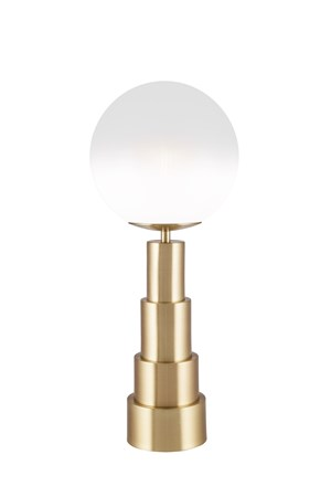 Astro Bordslampa Borstad Mässing 20 cm - Globen Lighting - bild