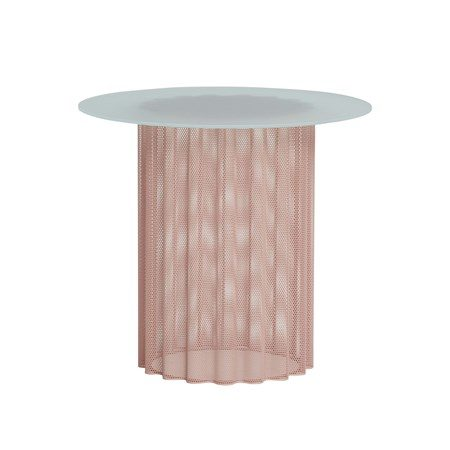 Bord Frostat Glas Nude - Hübsch - bild
