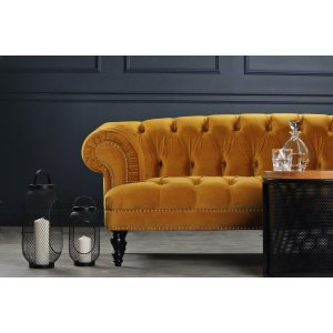 Oxford deluxe 3-sits chesterfield - Valfri färg -3-sits soffor - Soffor