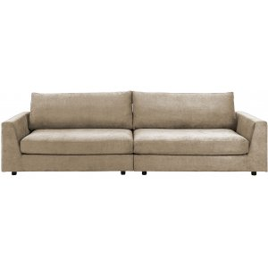 Bridge Loungesoffa 4-sits soffa - Chenille Sand -4-sits soffor - Soffor