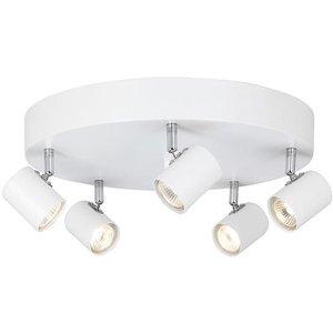Alpha spotlight - Vit/krom -Taklampor - Lampor