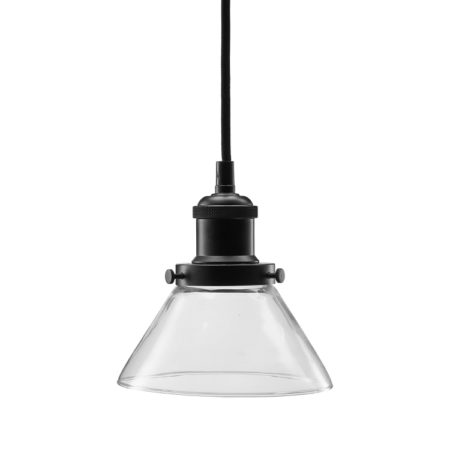 Bild på AUGUST Fönsterlampa 15 cm Klar/Svart från PR Home
