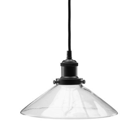 Bild på AUGUST Fönsterlampa 25 cm Klar/Svart från PR Home