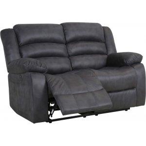 Elwin 2-sits reclinersoffa el - Grå -Biosoffor & Reclinersoffor - Soffor