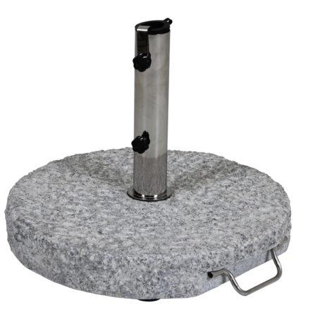 Bild på GROSSETO Parasollfot 40 kg Granit från Brafab