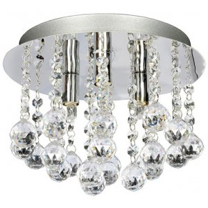 Aries Taklampa 3 - Krom/Kristall -Taklampor - Lampor