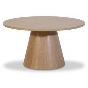 Cone runt soffbord Ø85 cm - Whitewash -Soffbord - Bord