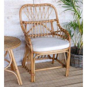 Adena karmstol i bambu - Natur -Övriga fåtöljer - Fåtöljer